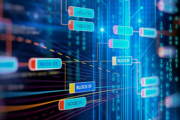 blockchain, platform for inter-bank system