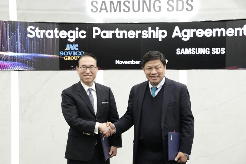 Samsung SDS to become Digital Partner of Vietnamese Sovico Group