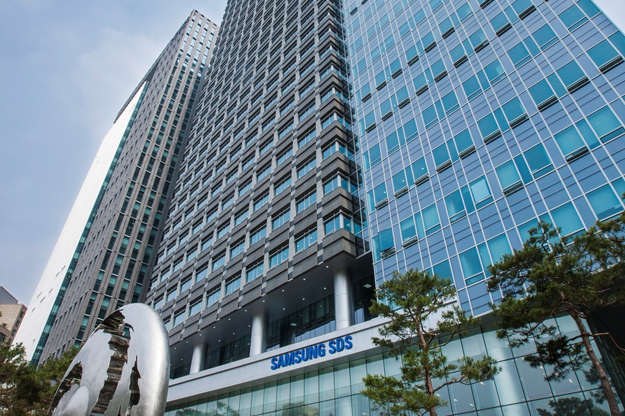 Samsung SDS Campus in Jamsil, Seoul